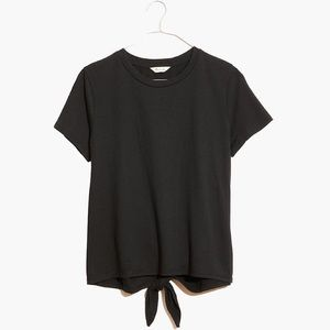 NWT Madewell knot-back tee size XS